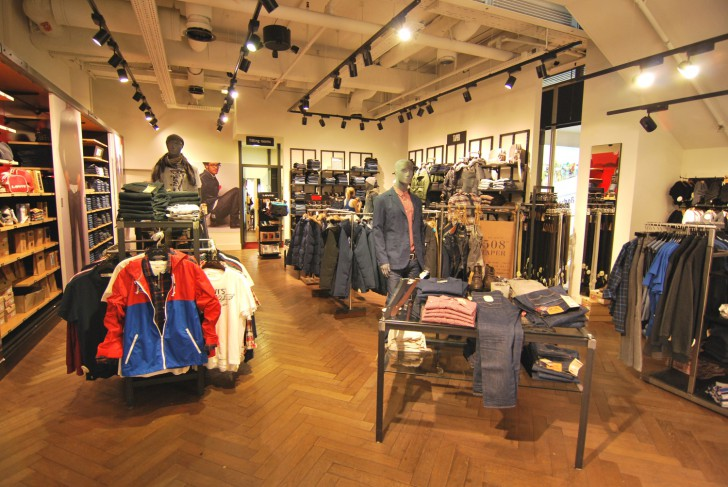 Levis Store (c) stadtbekannt.at