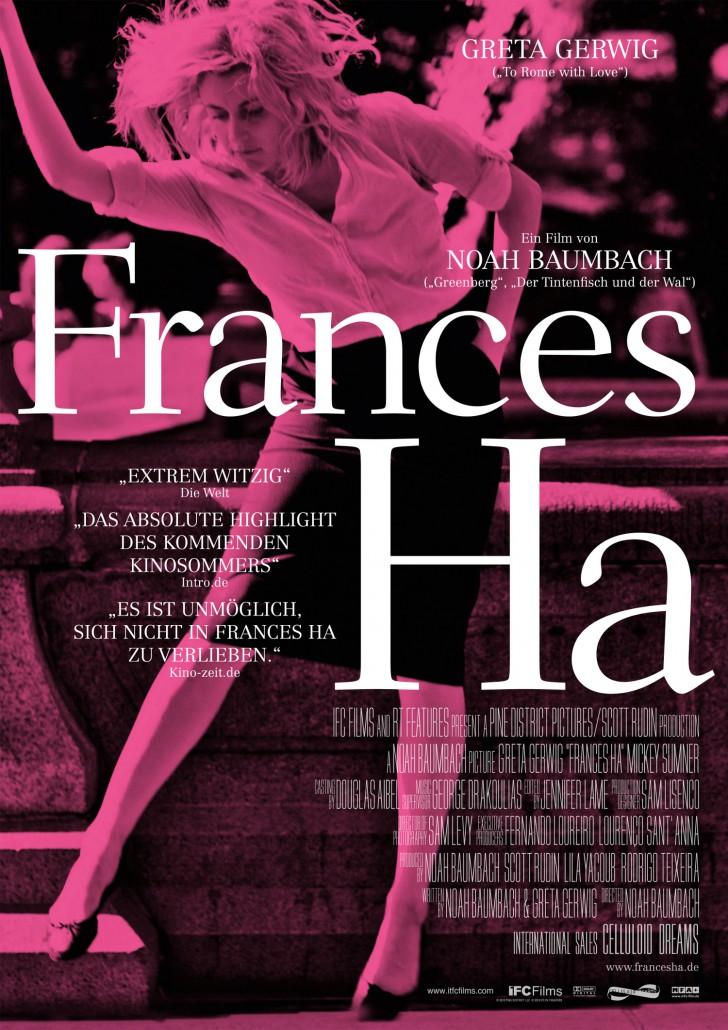 FRANCES HA - Plakat (c) Filmladen Filmverleih