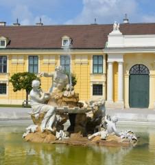 Schloß Schönbrunn Brunnen (c) Mautner stadtbekannt.at