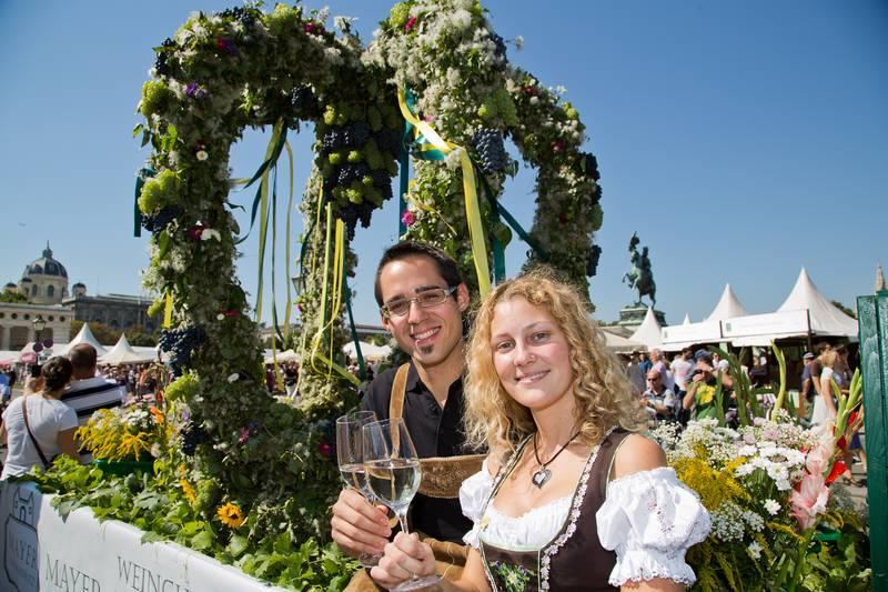 Foto: Erntedankfest (c) Bauernbund Jugend
