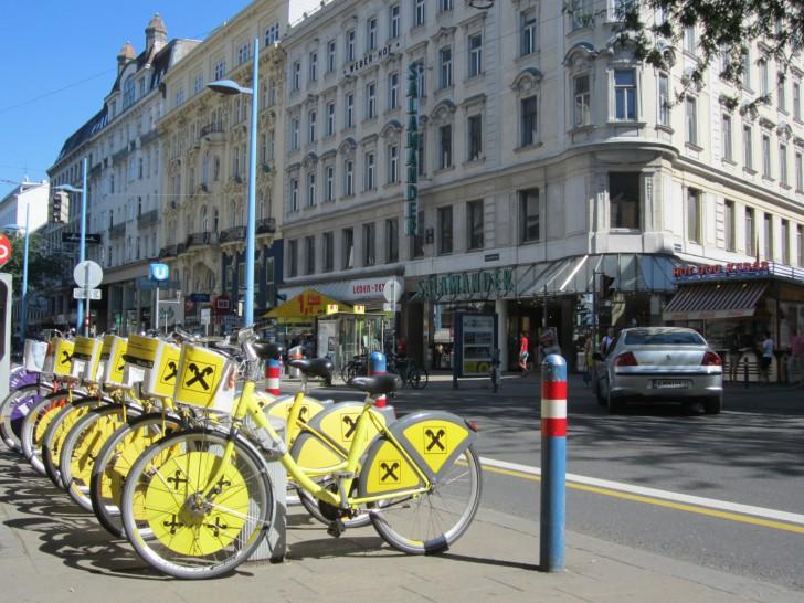 Citybikes (c) Mehofer stadtbekannt.at
