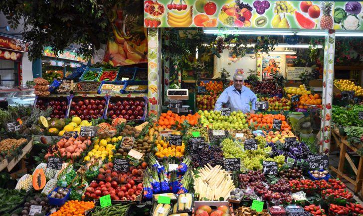 Meiselmarkt Obststand (c) Mautner stadtbekannt.at