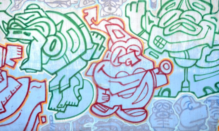 Graffiti (c) stadtbekannt.at