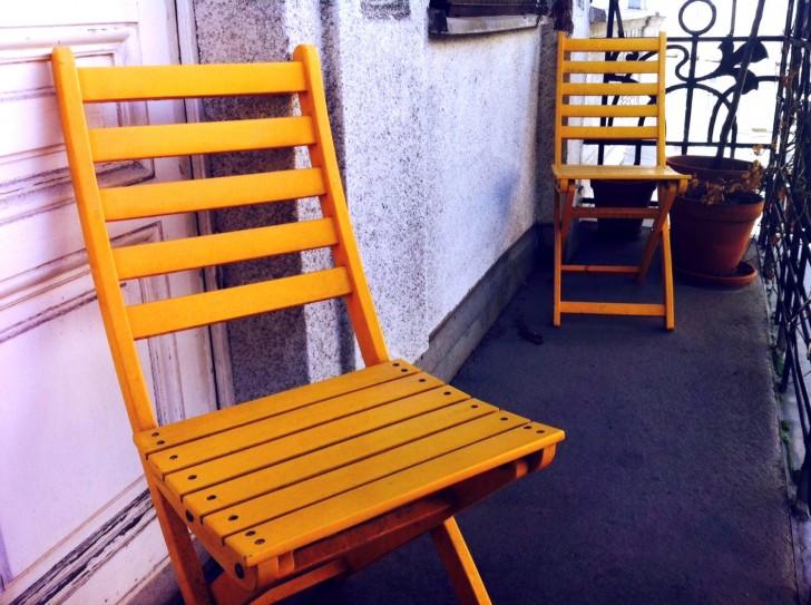 Gelber Sessel (c) Mehofer stadtbekannt.at