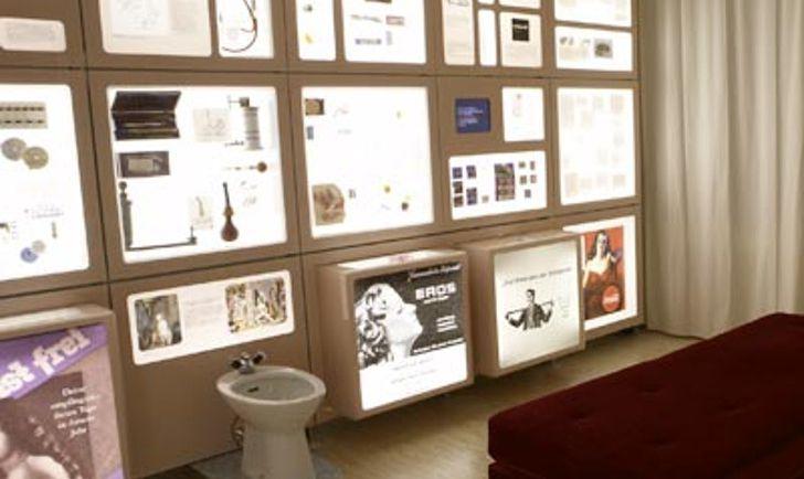 Ausstellungsraum(c) Museum für Verhütung und Schwangerschaftsabbruch