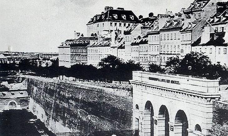 Wiener Stadtmauer Schottentor