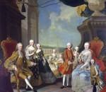 Maria Theresia mit Familie