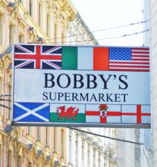 Tafel Bobby's Foodstore (c) STADTBEKANNT