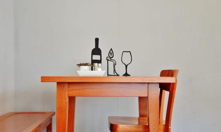 Hans im Glück Tisch Wein (c) Mautner stadtbekannt.at