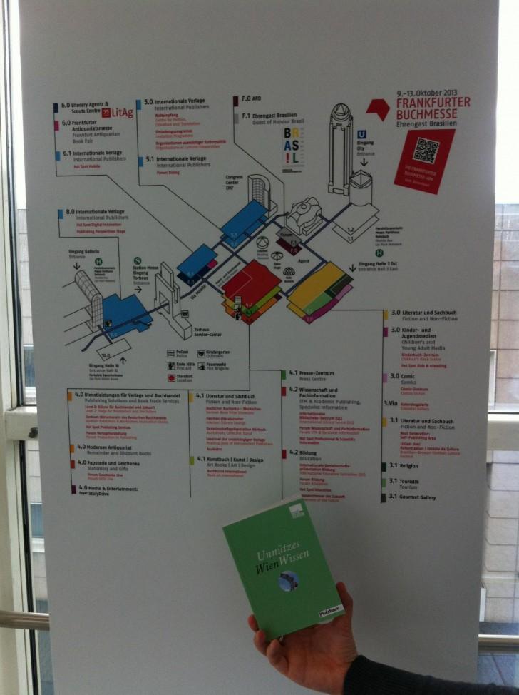 UWW Frankfurter Buchmesse Plan (c) stadtbekannt.at