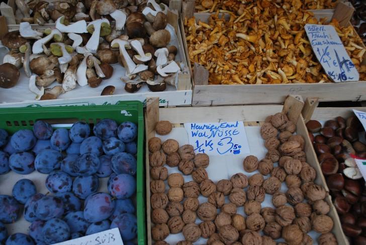 Naschmarkt Schwammerln (c) Mautner stadtbekannt.at