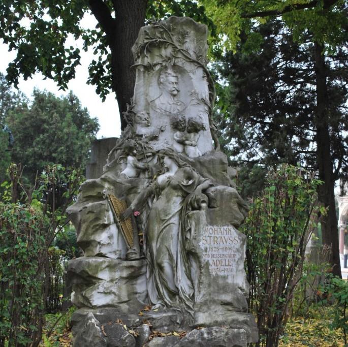 Johann Strauss Ehrengrab (c) STADTBEKANNT