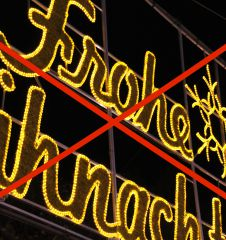 Anti Weihnachten Dagegen (c) STADTBEKANNT Hofinger