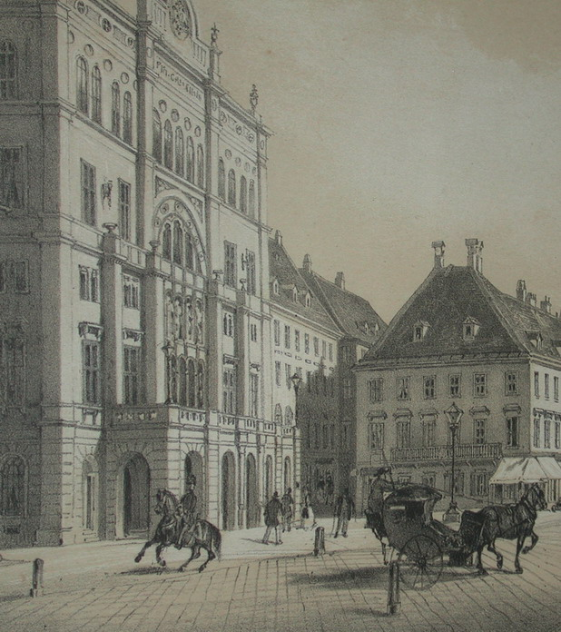 Carltheater Wien Nicolas-Marie-Joseph Chapuy