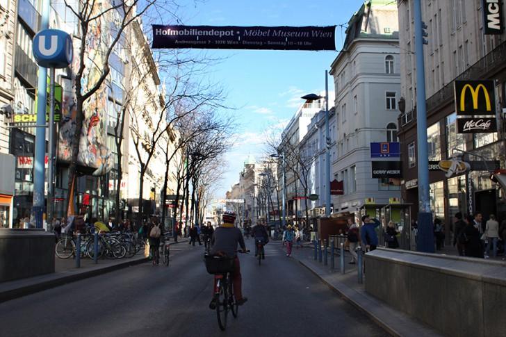 Mariahilferstraße, 6. und 7. Bezirk, Foto: STADTBEKANNT