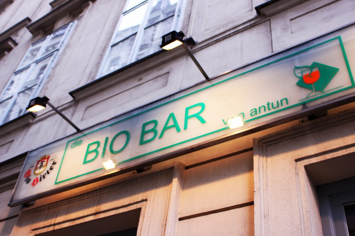 Bio Bar Antun Schild (c) CF stadtbekannt.at