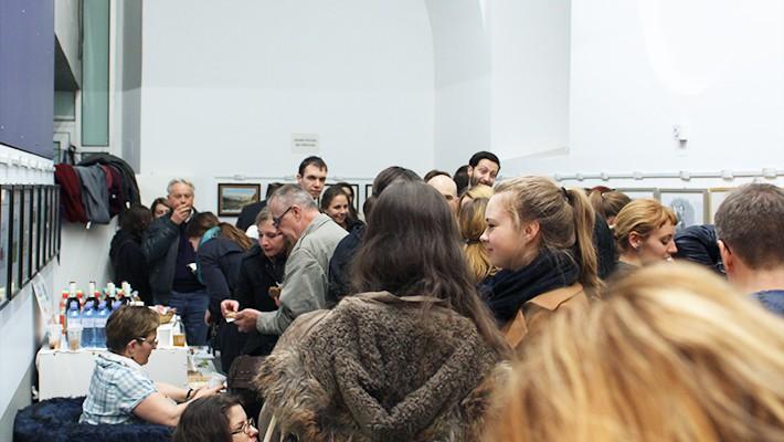 Buchpräsentation Vegan in Wien Galerie (c) CF stadtbekannt