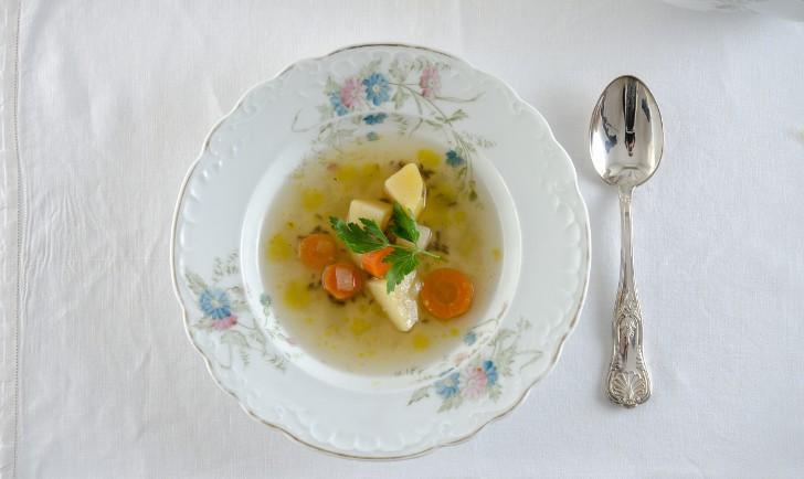 Gemüsesuppe (c) STADTBEKANNT Mautner