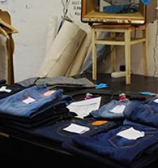 Hosenlabor Jeans (c) Voggenberger stadtbekannt