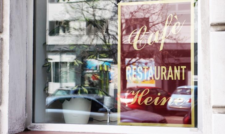 Cafe Heine Schild (c) STADTBEKANNT