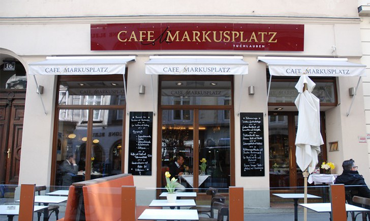 Café Markusplatz (c) STADTBEKANNT