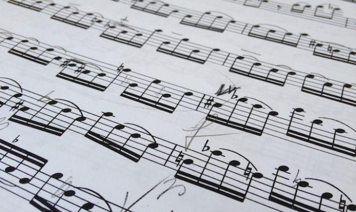 Noten Musik (c) STADTBEKANNT Hofinger