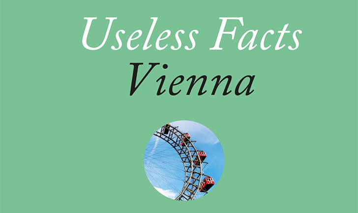 Useless Facts Vienna Cover (c) STADTBEKANNT