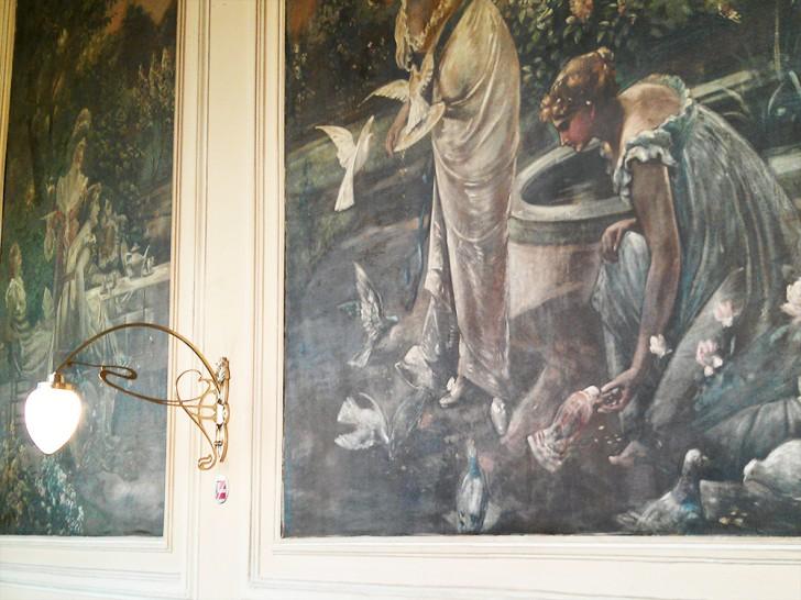 Cafe Ritter Wandgemälde (c) STADTBEKANNT