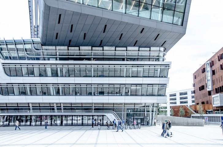 WU Campus Gebäude (c) STADTEBKANNT