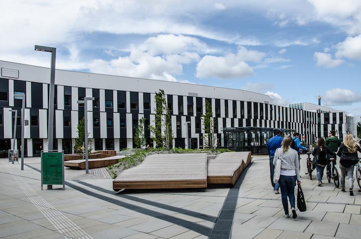 WU Campus außen (c) STADTBEKANNT