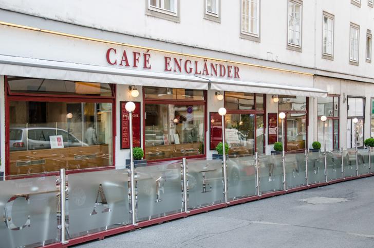 Cafe Engländer Schanigarten (c) STADTBEKANNT