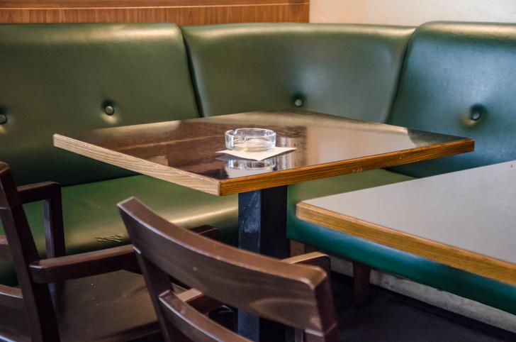 Cafe Engländer grüne Bank (c) STADTBEKANNT