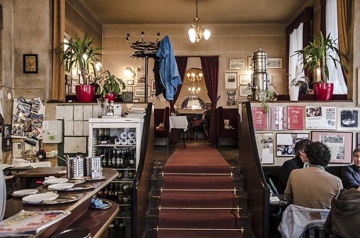 Cafe Jelinek Stiege (c) STADTBEKANNT