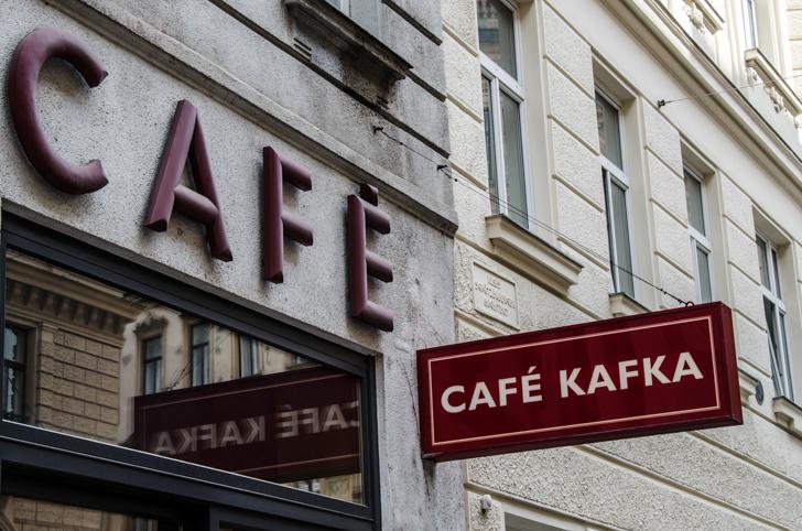 Cafe Kafka Schild (c) STADTBEKANNT