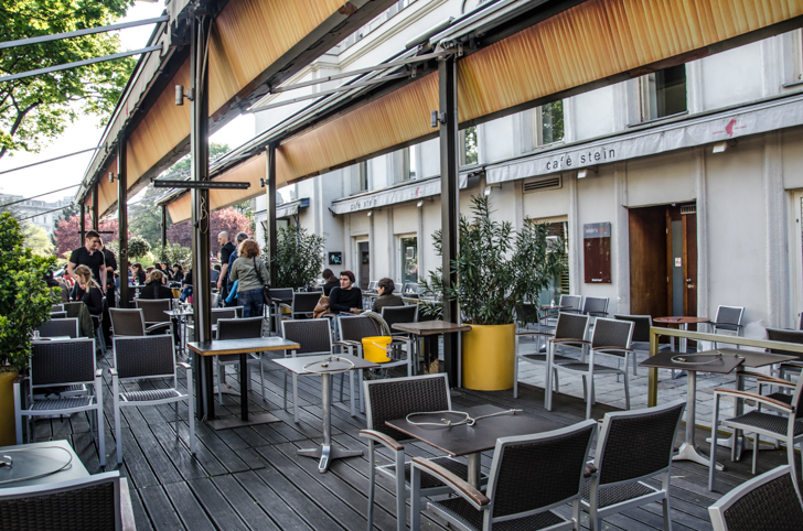 Cafe Stein Gastgarten (c) STADTBEKANNT