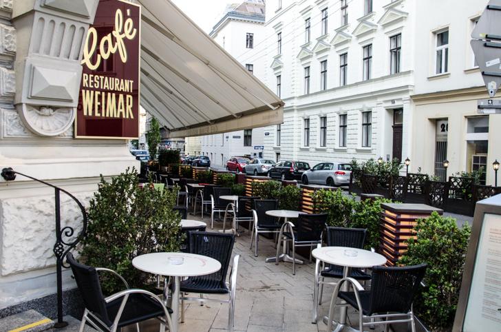Cafe Weimar Gastgarten (c) STADTBEKANNT