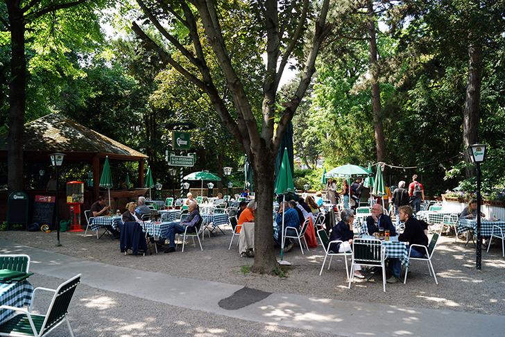 Fasanviertel Restaurant Klein Szeiermark Gastgarten (c) STADTBEKANNT-Zohmann