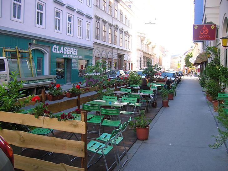 Noosh Afghanisches Restaurant Schanigarten (c) STADTBEKANNT