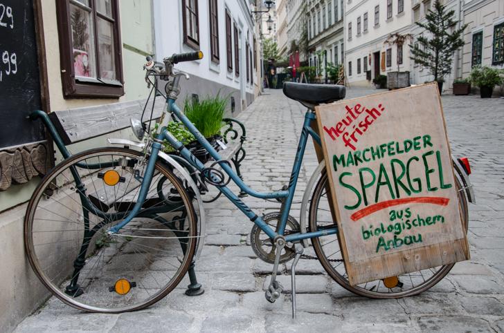 Naturkost Spittelberg Fahrrad (c) STADTBEKANNT