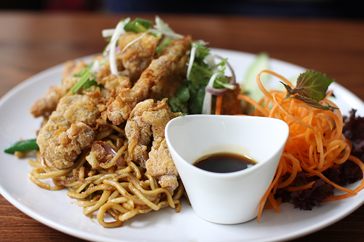 Phö & Saigon Market Hauptspeise Huhn (c) STADTBEKANNT