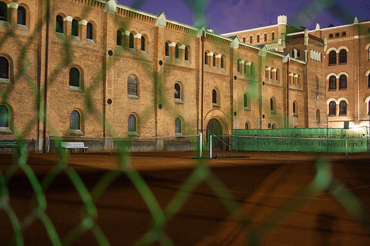 Tennisplatz Arsenal  (c) STADTBEKANNT Zohmann