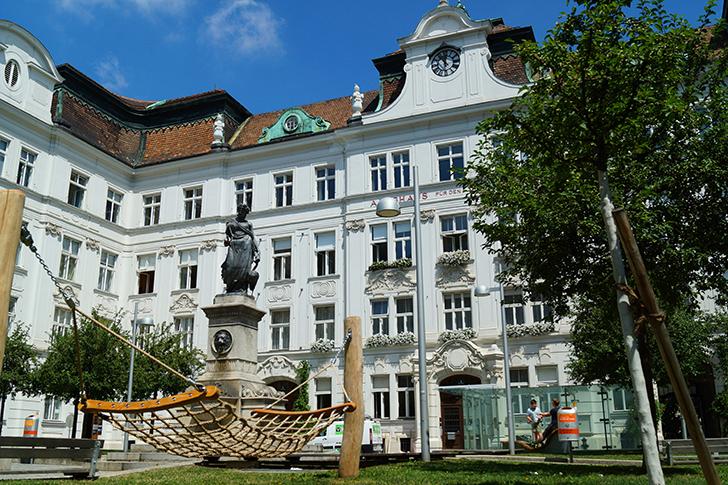Schlesingerplatz Foto: STADTBEKANNT Zohmann