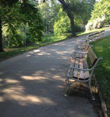Türkenschanzpark Bänke (c) STADTBEKANNT