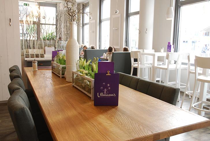Ullmanns Zuckerbäckerei Tisch (c) STADTBEKANNT Voggenberger