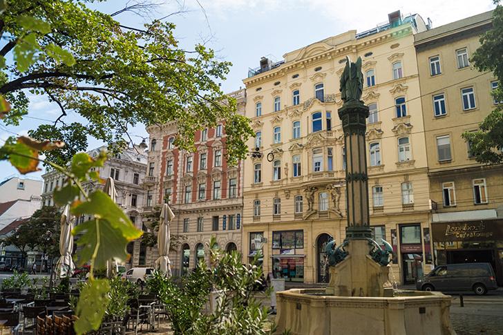 Wieden Rilkeplatz (c) stadtbekannt.at