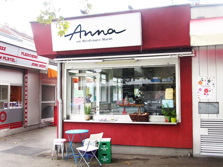 Anna am Meidlinger Markt (c) STADTBEKANNT Moser
