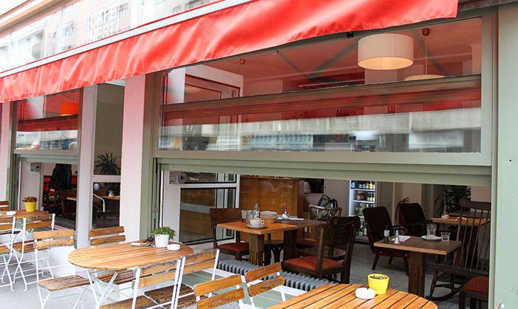 Cafe Nest Schanigarten (c) STADTBEKANNT Friedl