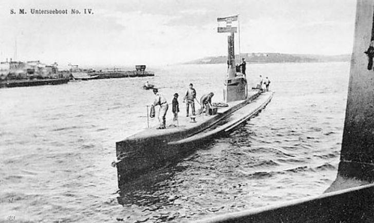 k.u.k. Marine Unterseeboot S.M. U4