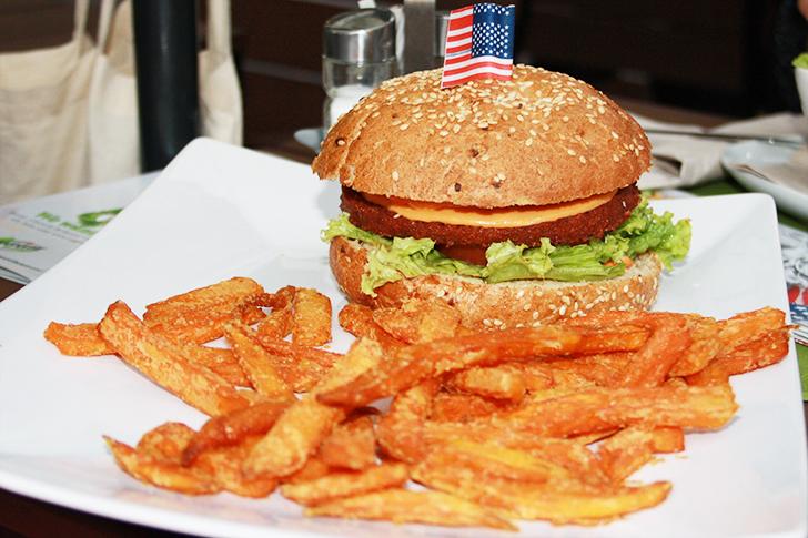Veggie Burger (c) STADTBEKANNT Amrhein