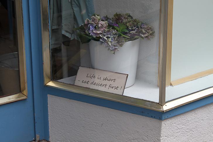Allergiker Cafe Schild (c) STADTBEKANNT Friedl
